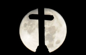 moon and cross
